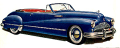 1946 Buick Super Sedan Convertible