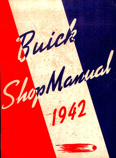 1942 Buick Shop Manual cover